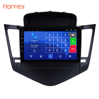 Harfey 2Din GPS Multimedia Player Head Unit For 2013 2014 2015 Chevrolet Cruze 9 inch Android 7.1/6.0 1080P Car Radio 3G Wifi