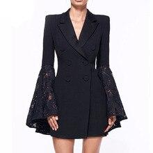 THYY 2018 Spring Full Lace Autumn Coat Blazer Women Suit Ladies Refresh Blazers Comfortable Women's Blazers Free Shipping A94