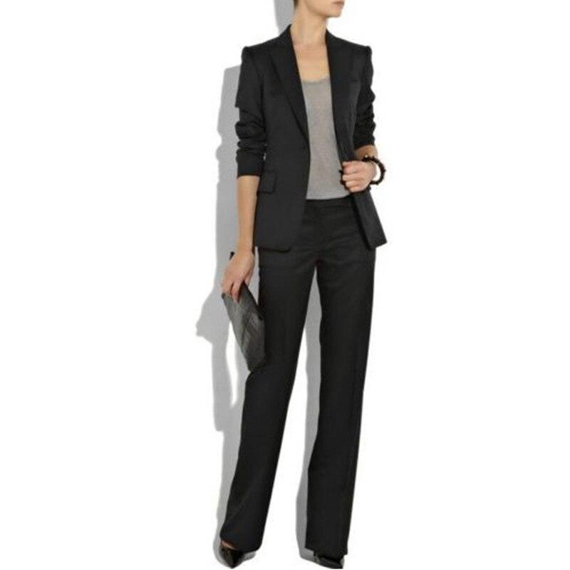 Online Get Cheap Ladies Black Trouser Suit -Aliexpress.com ...