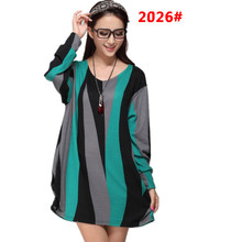 Spring Autumn Pregnant Clothing Long Sleeved Shirt Maternity Dresses Casual Knitted Shirt Printing Skirt Clothes