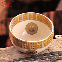 European Luxury Coconut Bowl Ivory Porcelain Kitchen Utensil Living Room Accessories Decoration Ceramic Storage Organizer Tray