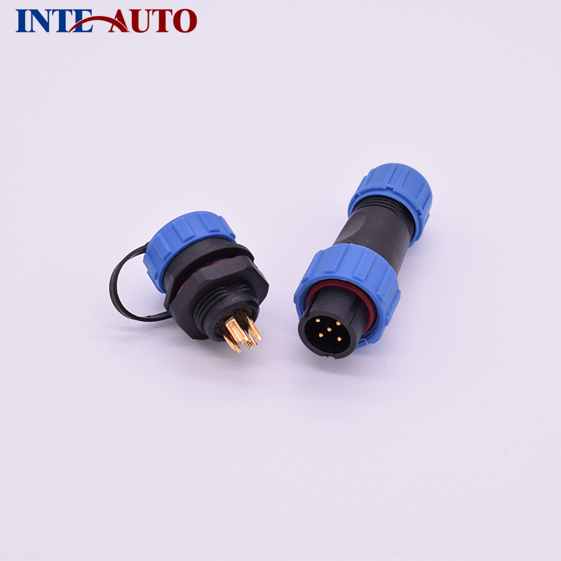 5 pin waterproof connector,automotive cable Plug and receptacle, IP68 connector,replacement WEIPU SP1310 series sp1310 waterproof