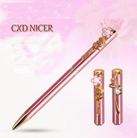German Cherry Pearl Gel Pen Business Lady Lettering Teacher Birthday Gift Neutral Pen For Writing Office