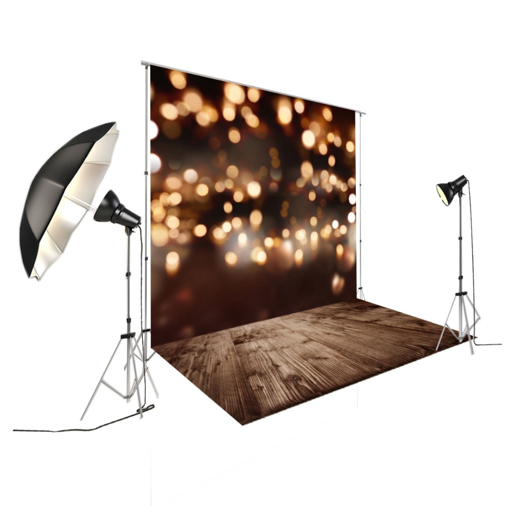 Glitter bokeh christmas Photography Background Pet Baby Photo Props Party Wall Decoration Brown backdrop XT-5667 600cm 300cm fundo snow footprints house3d baby photography backdrop background lk 1929
