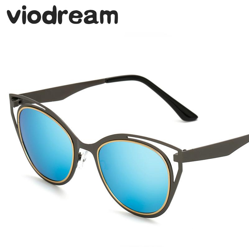 97bb2ceb0ff Viodream Cat Eye Polarized Sunglasses Women Color Film Polaroid sun glasses  Colored Lens Sun glasses Oculos De Sol Feminino-in Sunglasses from Apparel  ...