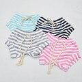 2016 Mais Novo Bebê Crianças Adorável Striped Cotton Shorts Bottoms Bloomers Do Bebê Recém-nascido Meninas Infantis Verão Hot Pants Shorts