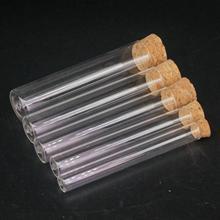 O/D 12 мм 15 мм 18 мм 20 мм 25 мм 30 мм 35 мм 40 мм длина 100 мм лабораторная стеклянная пробирка с плоским дном и деревянный фиксатор термоустойчивость
