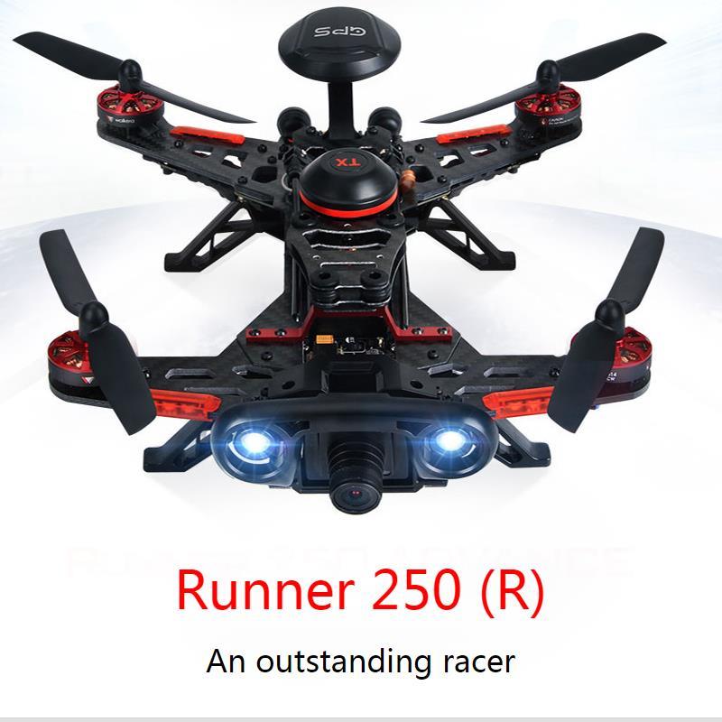 Walkera Runner 250 Advance Runner 250 (R) Racer RC Drone Quadcopter - კამერა და ფოტო - ფოტო 2