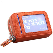 2017 Genuine Leather Women Men ID Card Holder Coin Purse Card Wallet Credit Card Business Card Holder Protector Organizer HB43 2017 genuine leather women men id card holder coin purse card wallet credit card business card holder protector organizer hb43