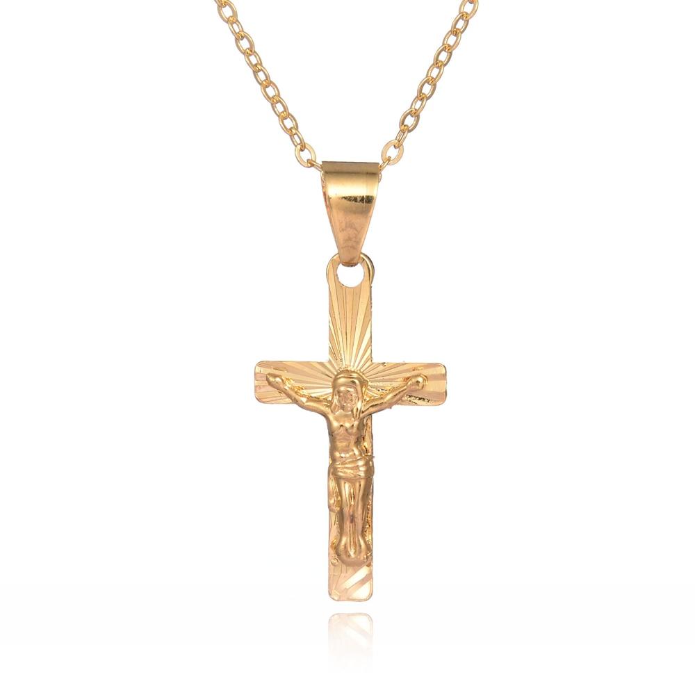 Popular Mens Crucifix Necklace-Buy Cheap Mens Crucifix ...