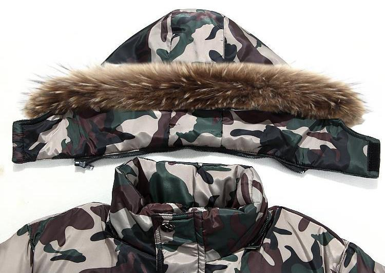 Rêve Camouflage De Allongé Green Genou khaki Nouvelle Style army La Le Dans Coton Hommes Les Hiver Soupe Long Épaissie Ont Et 2018 Grey Vêtements Pq8dP