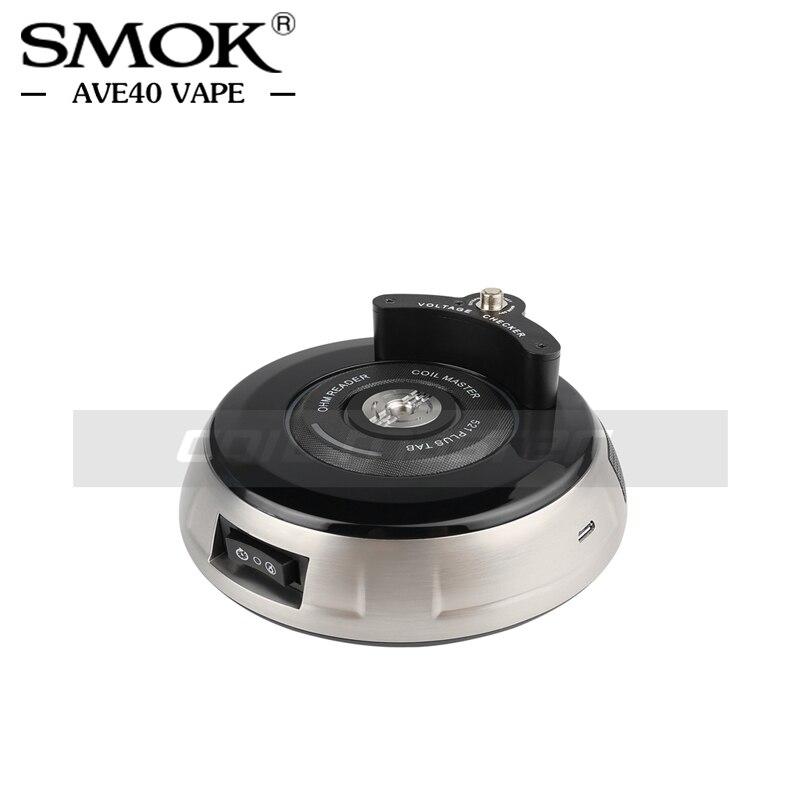 100 Original Coil Master 521 Plus Tab For Ohm Meter Coil Rebuilding Coil Burning VS Coilmaster