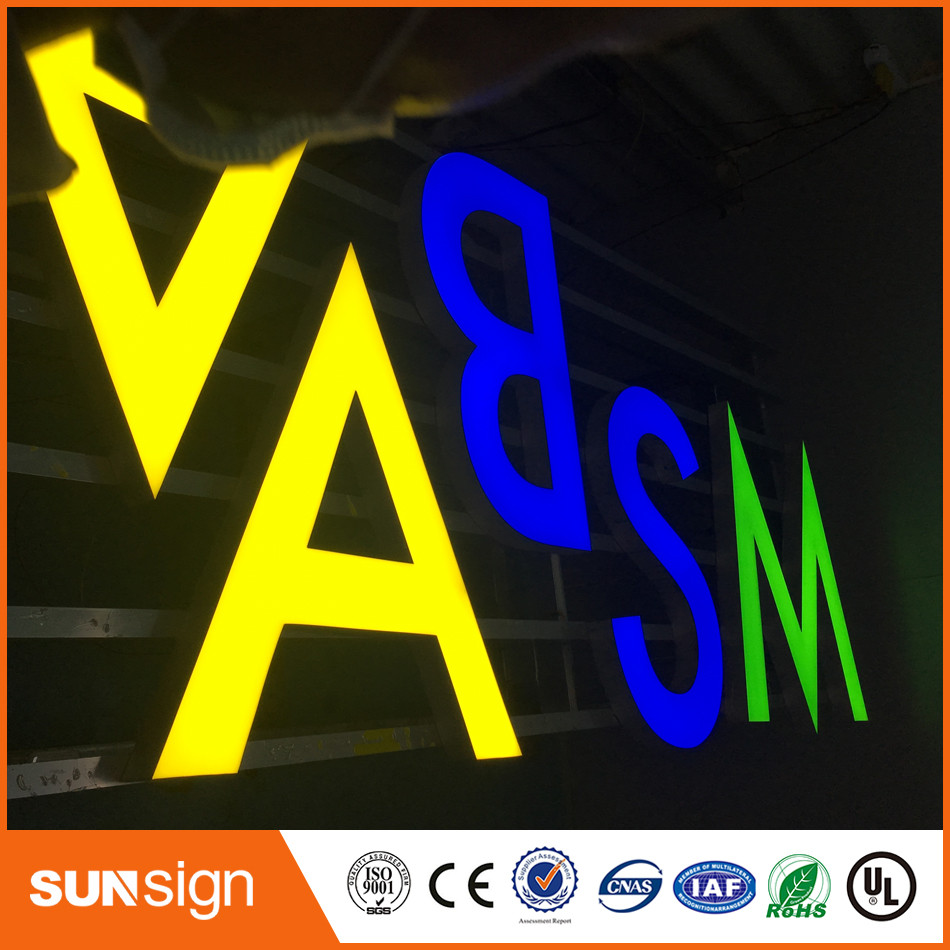 Wholesale High Quality Advertising Frontlit Led Sign Letters