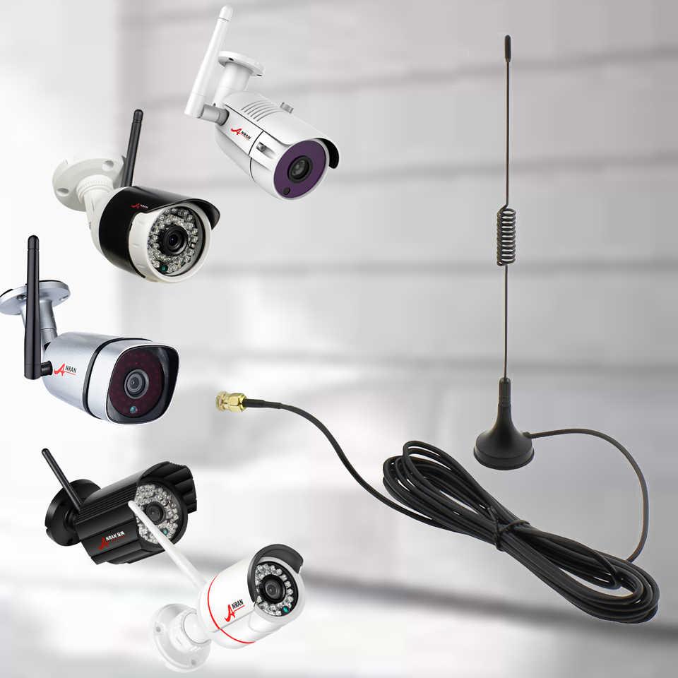 3M 10ft واي فاي هوائي تمديد وصلة كابل الذكور موصل ل ANRAN كاميرا أمان لاسلكية