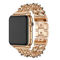 Apple Watch Band For 38mm 42mm Series1 2 Elliptical Style Stainless Steel Smart Watch Apple Watch