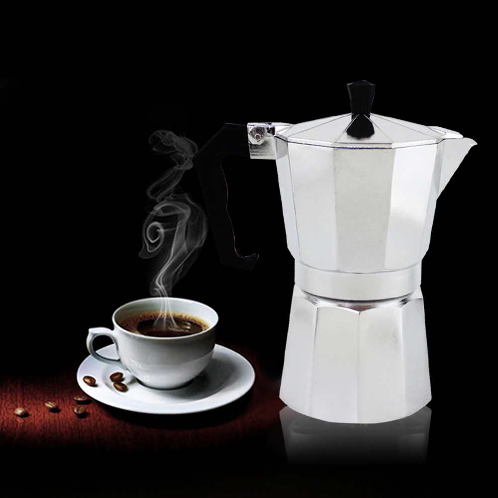 136912cup:  Coffeeware Kafe Pots Aluminum Manual Moka Coffee Pots Espresso Percolator Mocha Coffee Maker Cafe Pot 1/3/6/9/12cup For Choosing - Martin's & Co