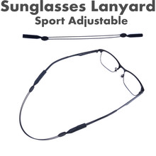 Maximumcatch 2pcs Sunglasses Lanyard High Quality Elastic Sport adjustable String for Spectacles