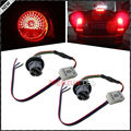 7440 T20 Socket Adapter Wiring Harness With Continuous Strobe Flash Module Box For Car 3rd Brake Light, Rear Fog Lamp, Taillamps