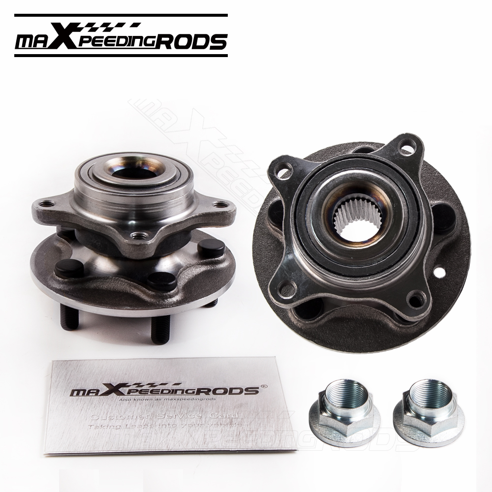 Pair For LAND ROVER DISCOVERY 3 4 TDV6 HSE S FRONT WHEEL BEARING HUB RFM500010
