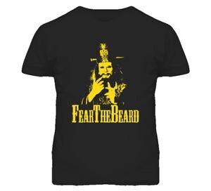 David Lo Pan Big Trouble In Little China Fear The Beard Funny Joke T shirt