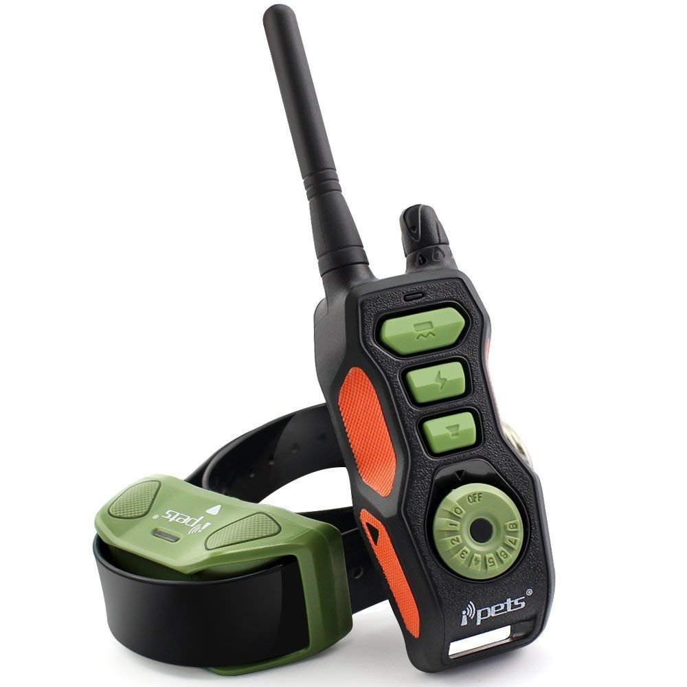 Remote 600M Dog Training Collar Vibration And Shock Rechargeable Waterproof