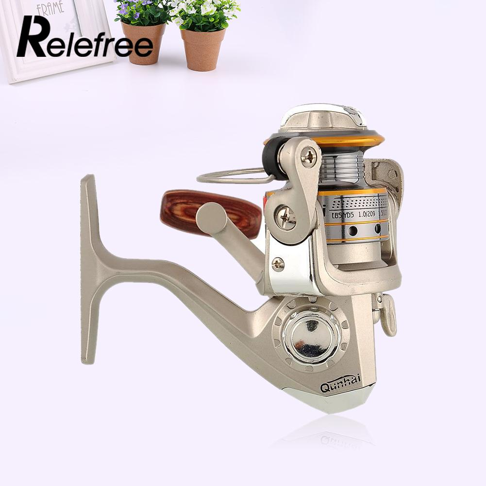 Freefisher 6 BB High Power Gear Spinning Spool Fishing Reel aluminum SG1000A New