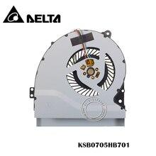 Новый процессор Охлаждающий вентилятор для ASUS A550JK R510JK K550JK A550JZ A550JV F550JK K550J A550J X550J FX50J A550 W50JK FX50J KSB0705HB701