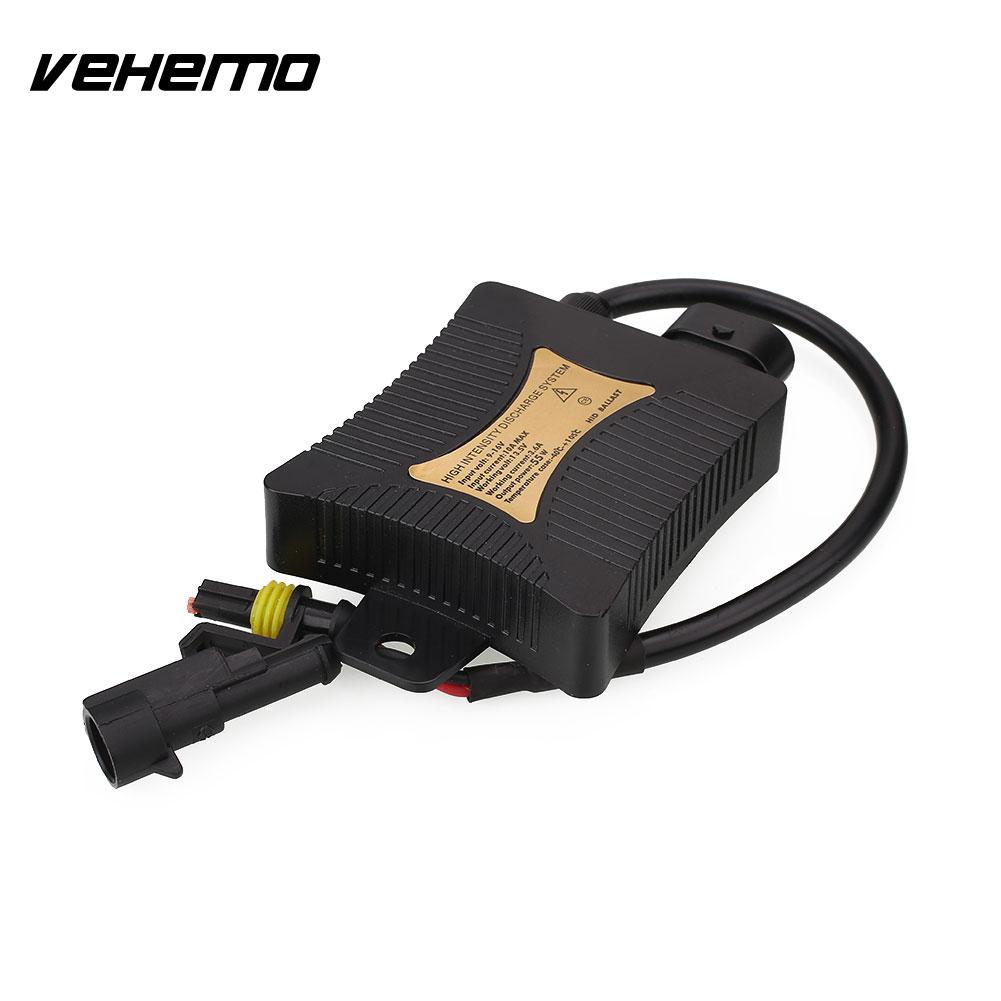 Vehemo Car Slim 12V 55W Replacement Conversion Xenon HID Ballast For H1 H3 H7 H11 H8