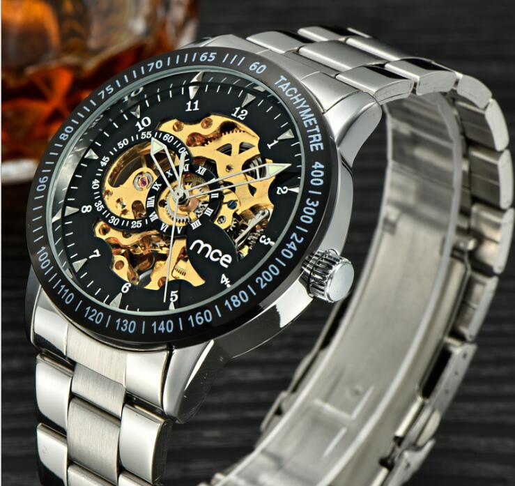 Geometry Design Transparent Skeleton Dial Mens Watch Top Brand Luxury Automatic Fashion Mechanical Watch Clock relojes masculion geometry design transparent skeleton dial mens watch top brand luxury automatic fashion mechanical watch clock relojes masculion