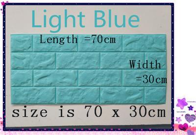 PCV 3D salon mur ceglany wzór tapety stickie dormitorium sypialnia retro wzór tapety adhesive392-F cegły 5