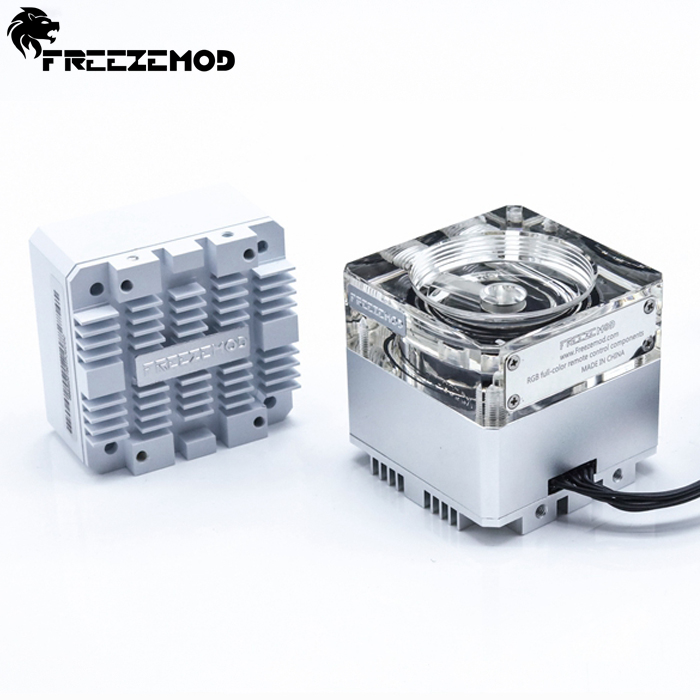 Fan Cooling Computer & Office Obedient Freeze Mod Computer Water-cooled Mute Pump With A 6 Meter Flow 960l/h Support Rgb Aura Pu-gcdca2