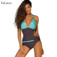2017 Một Mảnh Áo Tắm Push Up Swimwear Phụ Nữ Monokini Thong Cắt Đứt Cộng Với Kích Thước Quần Áo Bơi Beachwear Hater Tắm Brazil Phù Hợp Với