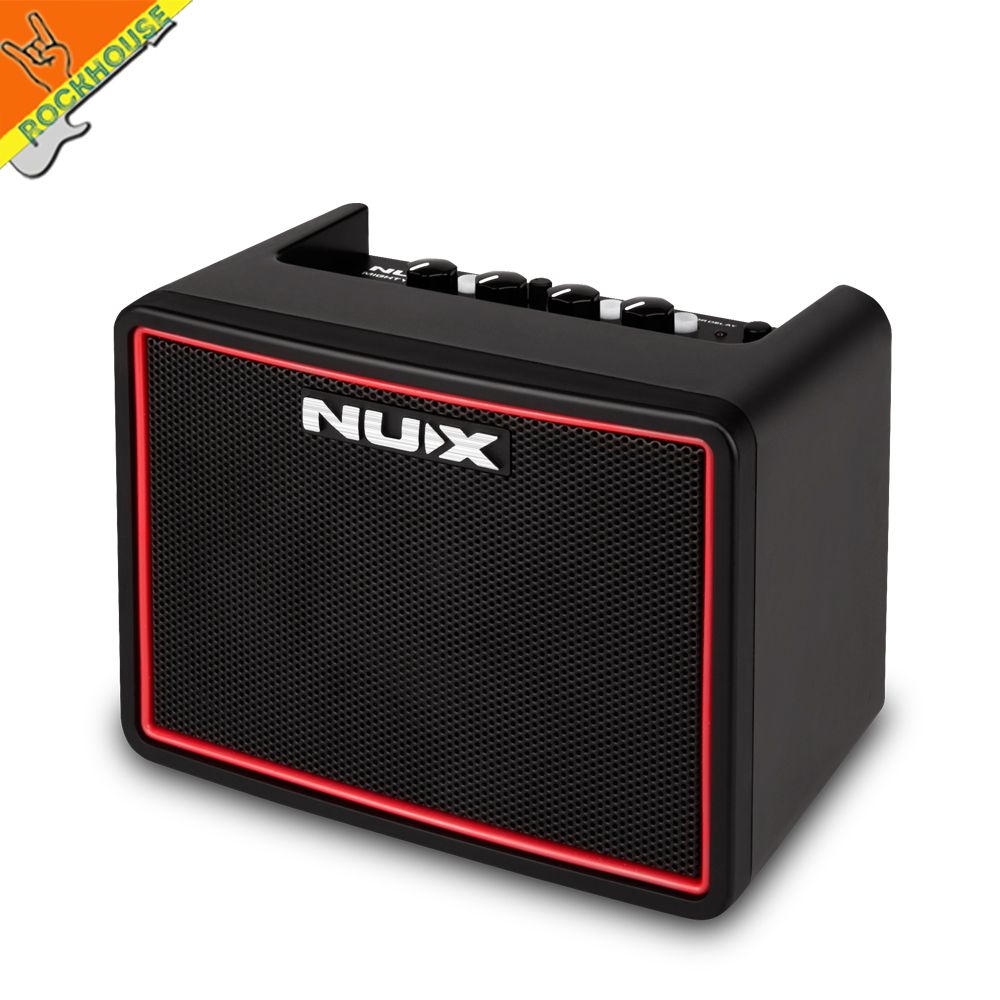 NUX Mighty Lite BT Mini Bluetooth Desktop Guitar Amplifier Portable Multifunction Guitar AMP With Drum Machine Free Shipping free shipping joyo ja 03 metal sound mini guitar amp pocket amplifier micro headphone speaker instruments guitarra 3w amp