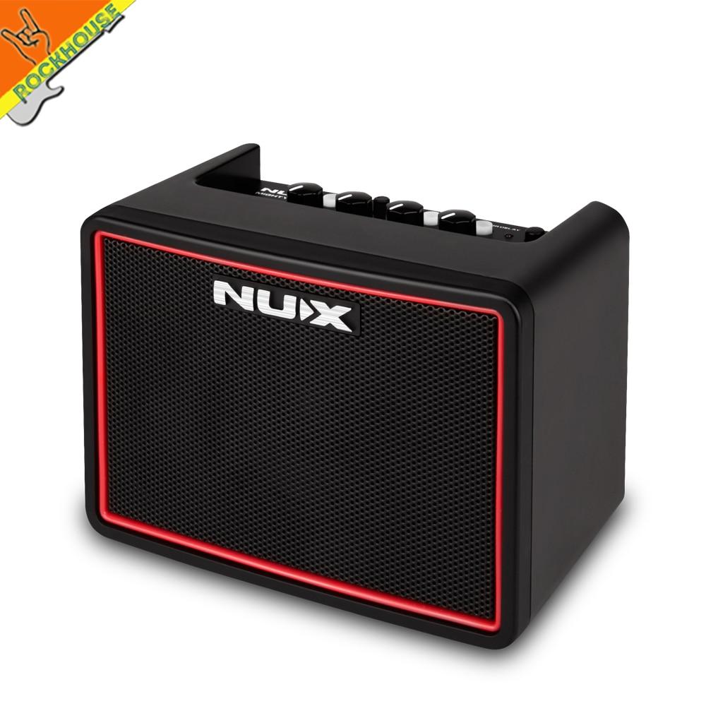 NUX puissant Lite BT Mini Bluetooth amplificateur de guitare de bureau Portable multifonction ampli de guitare avec tambour Machine livraison gratuite