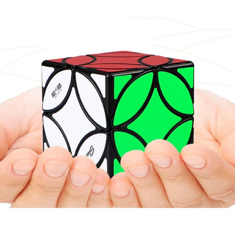 Jouets éducatifs professionnels d'apprentissage pour enfants étrange Puzzle pointu Cube de vitesse Magico Cubo Puzzle vitesse Magico Cube