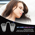 4pcs Healthy Sleeping Aid Equipment Stop Snoring Magnetic Anti Snore Apnea Nose Clip Anti-Snoring Breathe Aid Stop Snore Device