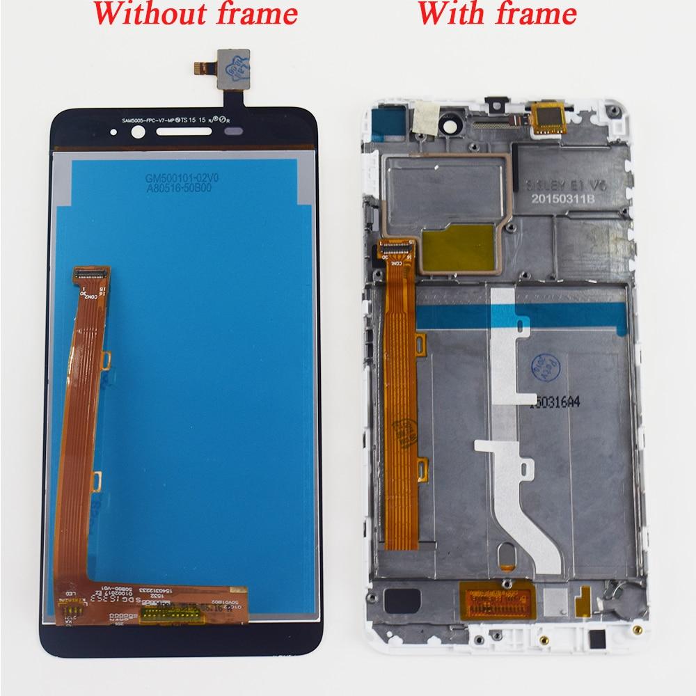 Für Lenovo s60 S60W S60T S60A S60-a Touch Screen Panel Digitizer Sensor + LCD Display Monitor Panel Modul Montage + rahmen