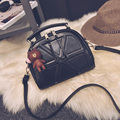 Women's fashion Joining together handbag The brand of high quality European and American style vintage bag cute messenger bag