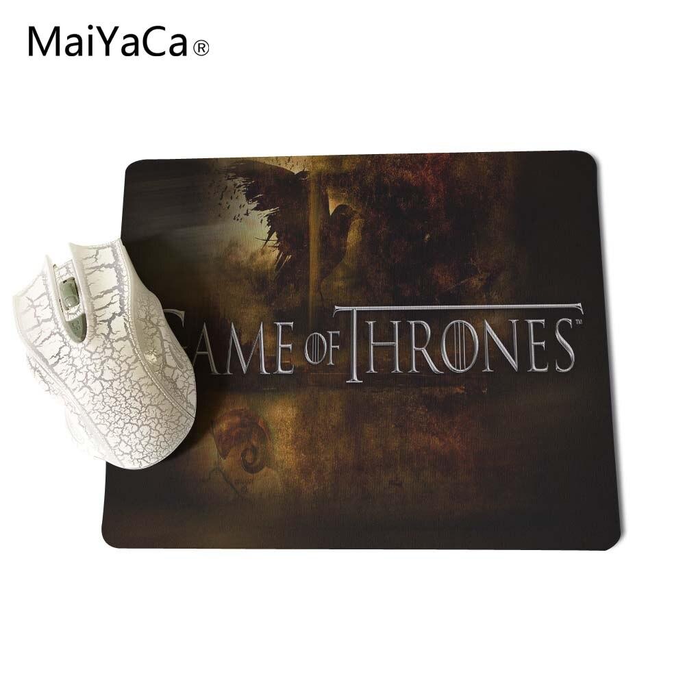 Juego de tronos MaiYaCa Mouse Pad Mouse Mat tamaño 18 * 22 cm y 25 * - Periféricos de la computadora - foto 3