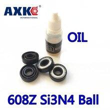 Balls Si3n4 Hybrid Ceramic 608zz 608z