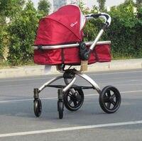 Мода складной Детские коляски автомобиля четыре колеса bb автомобиля buggiest детская коляска свет