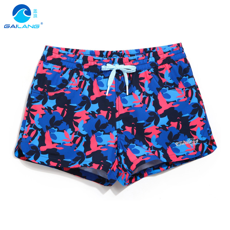 Gailang Brand Women beach surfing shorts sexy Woman Boxer Trunks Swimwear Swimsuits Lady boardshorts Active Sweatpants Shorts image