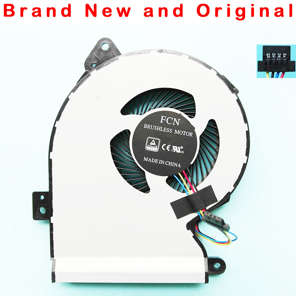 NEW ORINGAL CPU COOLING FAN FOR ASUS X540 X540LJ X540SA X540LA X540Lj X540YA X540UP CPU FAN COOLER DSF2004057S0T FHM7