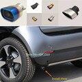 Для Benz smart fortwo 2015 2016 2017 2018 чехол для автомобиля глушитель внешняя задняя часть трубы посвящает наконечник выхлопной трубы орнамент