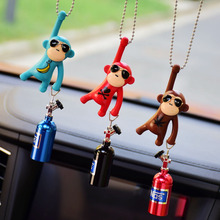 Car Pendant Hanging Monkey Car Interior Ornaments Decoration