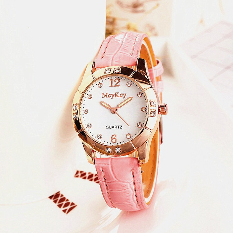 Women Watches Simple Leather Watch Ladies Fashion Casual Dress Quartz Watch Female Gift Clock Montre Femme Relojes Mujer in Women 39 s Watches from Watches