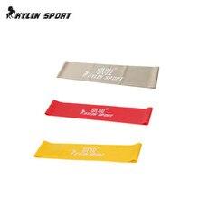 rød gul og grå combinationlatex modstand bands træning øvelse pilates yoga bands loop armbånd ankel elastik bælte