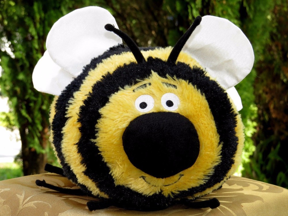 New Arrival Bumble Bee Skippyjon Jones Cute Soft Stuffed  Plush Toy Doll Collection Gift for Baby Birthday Gift double collar designed jacket earthy size l