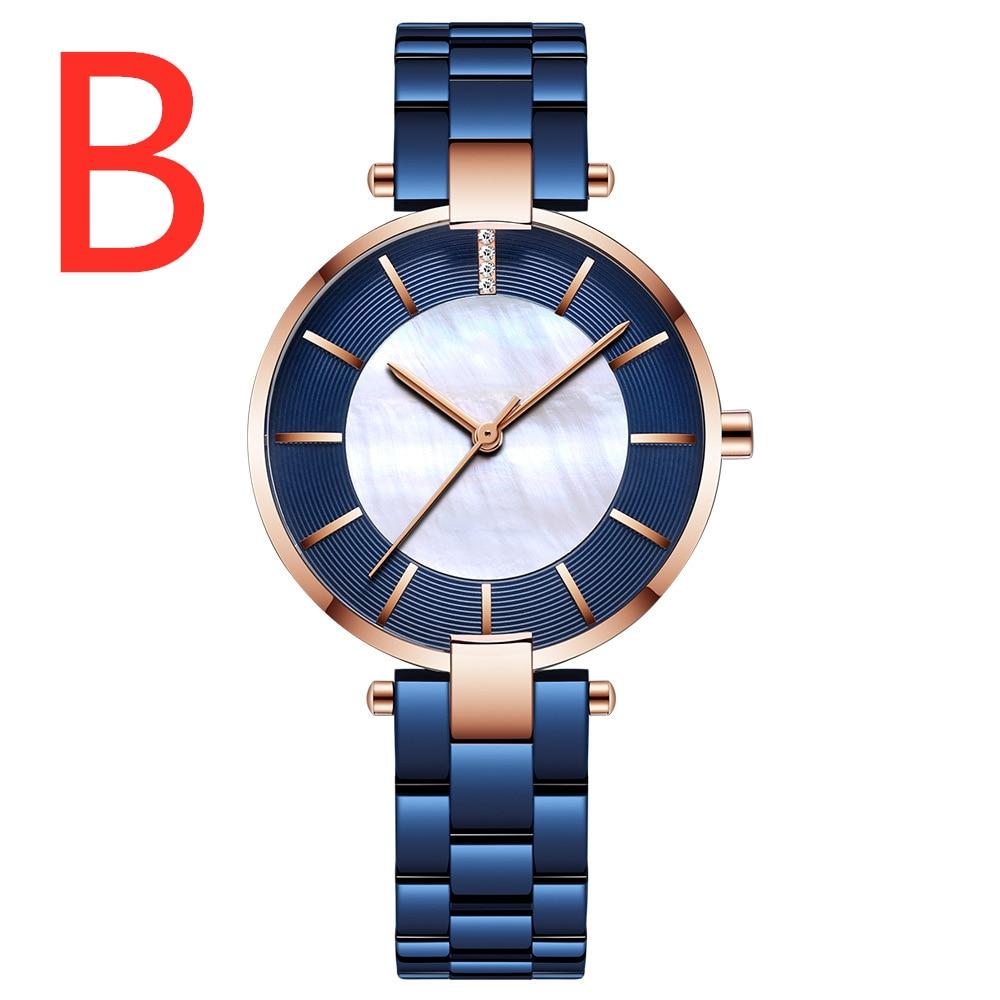 B Print Logo Watches 2019 Watch For Couple Fashion Sport Quartz Clock Watches Man Top Brand Luxury Business Watch Waterproof