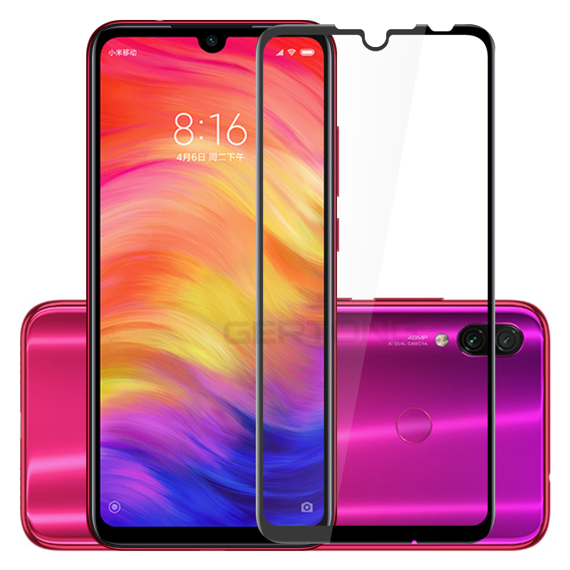 Screen Protector Tempered Glass For Xiaomi Redmi 7 Note 7 Pro Full Cover Front Film Toughened Glass For Xiaomi Redmi 7 7A Case